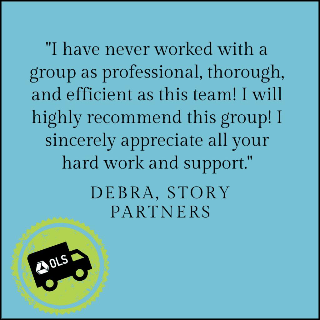 Debra's review for OLS